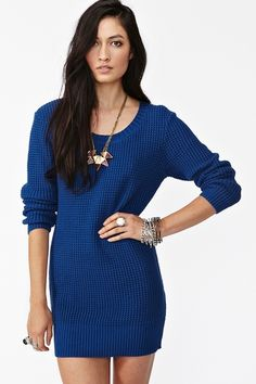Tangled Up In Blue Knit