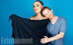 Comic-Con 2015 Star Portraits: Day 1   Clare Grant and Seth Green   EW.com