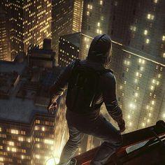 Desmond Miles in Manhattan