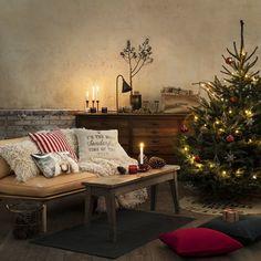 Une décoration de Noël traditionnelle
