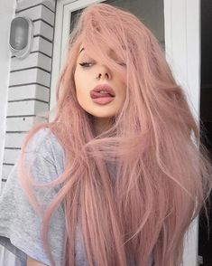 Pastel pink hair pastel hair 60 Fresh Spring Hair Colors For The REAL Fashionistas Hair Dye Colors, Cool Hair Color, Hair Color Pink, Nail Colors, Purple Hair, Blonde Color, Colours, Spring Hairstyles, Pretty Hairstyles