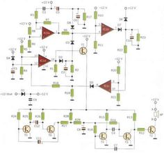 Digital Radar Speedometer - circuit diagrams, schematics, electronic ...
