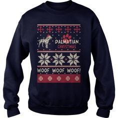 Dalmatian Christmas Woof