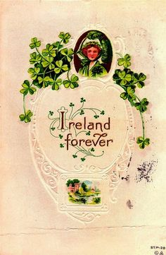 old fashioned st patricks day cards - Google Search