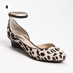 """Halogen Bianca Wedge in """"Dalmation"""" Eat your heart out Cruella DeVille"""