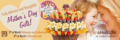 Edible fruit arrangements and bouquets | IncrEdible flowers