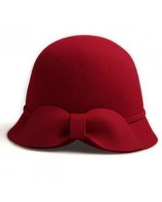 Red bow hat style zz926018 in Indressme