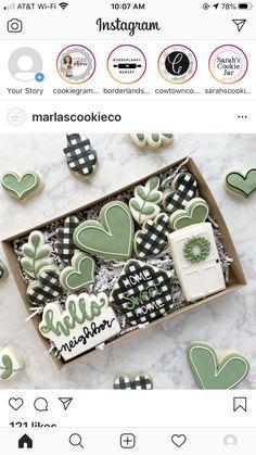 Cookie Bakery, Cookie Icing, Royal Icing Cookies, Cookie Jars, Sugar Cookies, Cute Cookies, Easter Cookies, Cookie Designs, Cookie Ideas