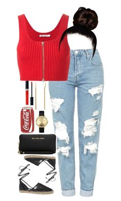 """""""10.5.16"""" by mcmlxxi ❤ liked on Polyvore featuring Christian Dior, Topshop, T By Alexander Wang, Circus by Sam Edelman, Diane Von Furstenberg, Michael Kors, Skinnydip and Nixon"""
