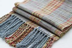 Handwoven Scarf  Superwash Merino & Cashmere by wooltherapy, $95.00