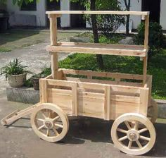 Wooden Carts And Wagons | Innovate to Conserve Natural Resources MGP Inc 1-800-574-7248