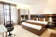 #OYORooms Noida Sector 44 Sector-44, #Noida Free Wifi, Bed, Room, Budget, Furniture, Home Decor, Bedroom, Decoration Home, Room Decor