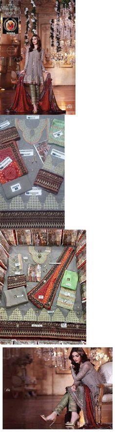 Salwar Kameez 155249: Pakistani Designer Maria B Zainub Chottani Asim Jofa Inspire Kameez Eid Net -> BUY IT NOW ONLY: $115.5 on eBay!