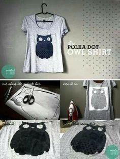 Like this owl shirt