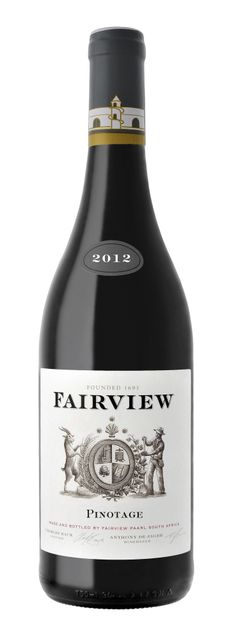 Fairview 2012 Pinotage scores 80 points and 5 stars in value. #wine #SouthAfrica