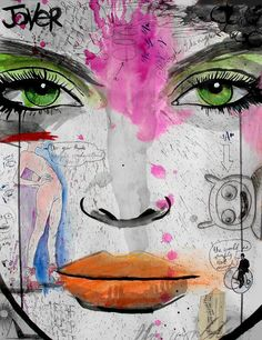 "Saatchi Art Artist: Loui Jover; Pen and Ink 2013 Drawing ""wake me when its over"""