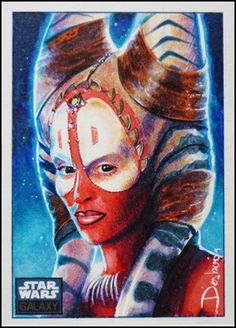 Star Wars Barriss Offee Limited Edition Convention Poster Art Print