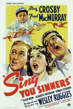 Bing Crosby, Ellen Drew, Fred MacMurray, and Donald O'Connor in Sing, You Sinners (1938)