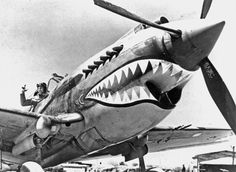 Curtiss P-40 Warhawk Shark Nose Art | National Air and Space Museum