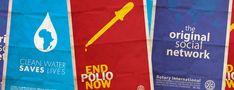 Rotary International Minimal Art Posters