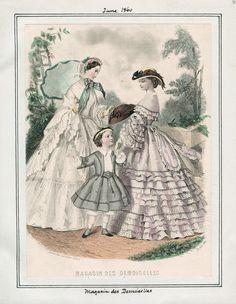 LAPL, Magasin des Demoiselles, June 1860
