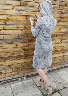 www.killmint.com  szara sukienka. Vintage dress