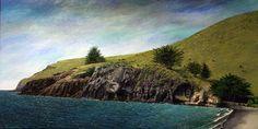 Taylors Mistake, Christchurch New Zealand Art, Nz Art, South Island, Surrealism, Taylors, Beach, Places, Water, Artist