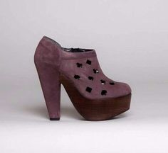 ROBERT CLERGERIE DOROTE ANKLE BOOTS $980 Vegas Cut Out Suede Platform Booties #RobertClergerie #Booties #Any