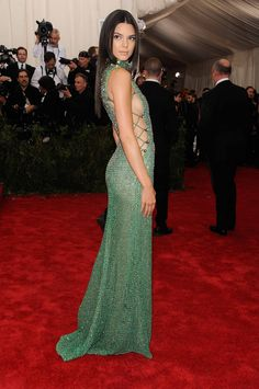 Kendall // At the Met Gala, 2015: Calvin Klein Collection