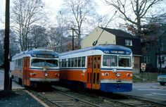 SEPTA Red Arrow Brill & St. Louis built Trolleys