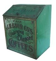 O410 The J.M. Bour Co's Celebrated Blended Coffee Tin