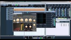 ADSR Pro Sidechain Compression in Cubase 5 using a Quadro Group Channel,...