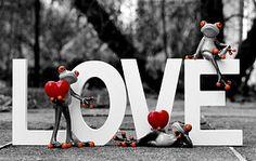 Żaby, Miłość, Walentynki