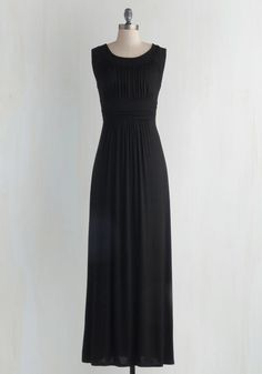 First Classic Dress in Black, #ModCloth