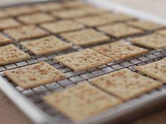 Seasoned Crackers recipe from Ree Drummond via Food Network