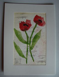 watercolor cards 9-12-2011 008 by wildflowerhouse, via Flickr