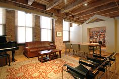 Former Printing Press Warehouse Converted Into Beautiful Apartment
