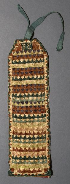 1978.0122 Sewing Roll   lace of Origin: Norristown, Montgomery, Pennsylvania, Mid-Atlantic, United States, North America  Date: 1775-1780