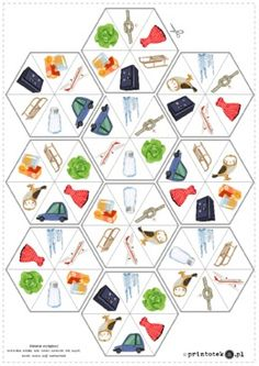 Speech And Language, Preschool Activities, Board Games, Kindergarten, Calendar, Playing Cards, Puzzle, Animation, Holiday Decor