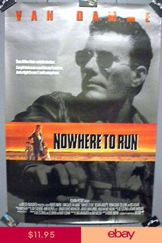 1992 Movie Poster NOWHERE TO RUN Jean-Claude Van Damme Celebrity Stars, Van Damme, Ballroom Dancing, Keira Knightley, Scarlett Johansson, Actors & Actresses, Singer, Running, Cloud