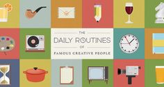 Struggle to find time for creative projects? Take inspiration from the masters.