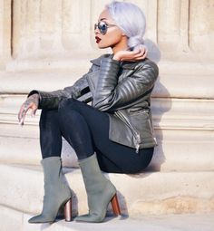 Nyane Lebajoa wears KORI boots - http://www.publicdesire.com/catalogsearch/result/?q=kori&utm_source=Pinterest&utm_medium=Social&utm_campaign=Campaign_Olapic Credit - https://www.instagram.com/p/BEJUewdBVXy/?taken-by=nyanelebajoa