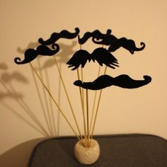 A stash makes any party...  Wedding PropParty Fun Felt Moustaches - Party P... - Folksy