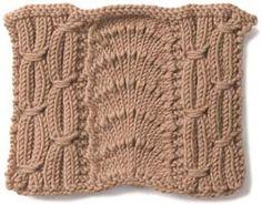 Art deco knit.  www.vogueknitting.com/resources/stitchionary/cables/art_deco.aspx