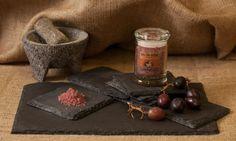 Sal de Vida Gourmet - Gourmet Salts and Bbq Vegetables, Gourmet Salt, Glass Jars, Stuffed Mushrooms, Pork, Cheese, Meat, Full Body, Sauces
