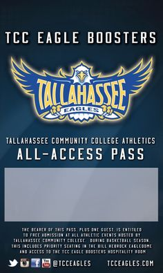 Tallahassee Community College All Access Donor Passes