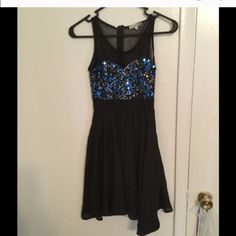Sparkly dress This is a super cute dress perfect for a night out with the girls or on a special date! Charlotte Russe Dresses
