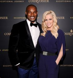Pals Tyson Beckford and Jenny McCarthy were picture-perfect at Courvoisier's Exceptional Journey launch event on Tuesday.
