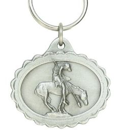 Pewter Key Ring - End Of The Trail $8.95