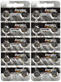 "Energizer LR44 1.5V Button Cell Battery 20 pack (Replaces: LR44, CR44, SR44, 357, SR44W, AG13, G13, A76, A-76, PX76, 675, 1166a, LR44H, V13GA, GP76A, L1154, RW82B, EPX76, SR44SW, 303, SR44, S303, S357, SP303, SR44SW) ""Energizer Brand Name Batteries"""